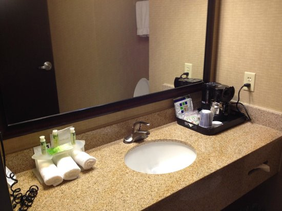 Holiday Inn Express Hotel & Suites Opelika Auburn: Clean, well-appointed bathroom