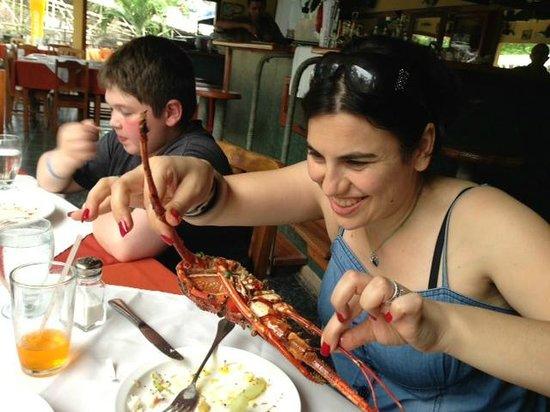 Papagayo Seafood: Delicious