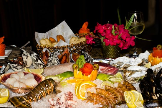 Pelican Point Restaurant & Bar: Seafood selection