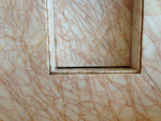 The Ritz-Carlton Shanghai, Pudong: mildew in the bathroom