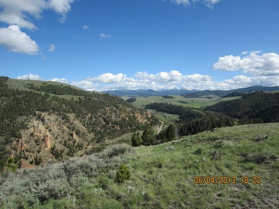The Ranch at Rock Creek: From the top of the mountain