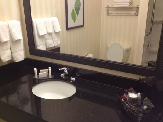 Fairfield Inn & Suites Tallahassee Central: Bathroom