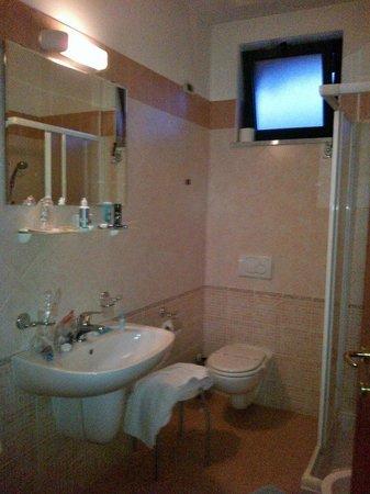 Hotel Rigolfo : Bagno adeguato con ampio box doccia