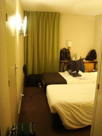 Campanile: Small room.