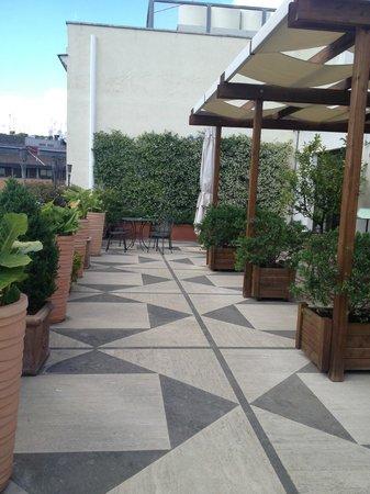 Hotel Dei Mellini: Rooftop Terrace