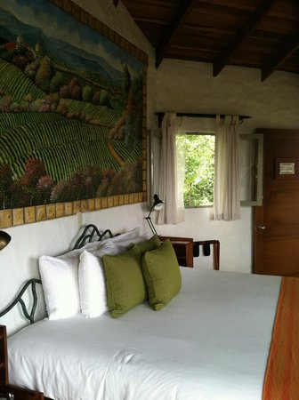 Finca Rosa Blanca Coffee Plantation Resort: Mural of el cafetal room