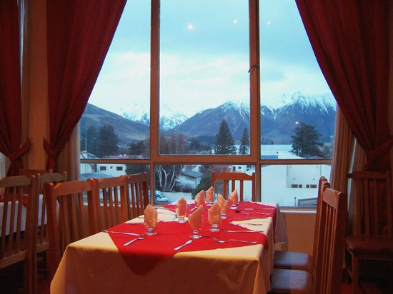 Hotel Sol Del Sur : En la mesa que te sientes la vista es una postal...