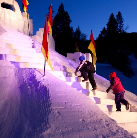 Sipapu Ski Area: Every President's Day weekend, Sipapu creates a huge snow castle with steps, slides and tunnels.