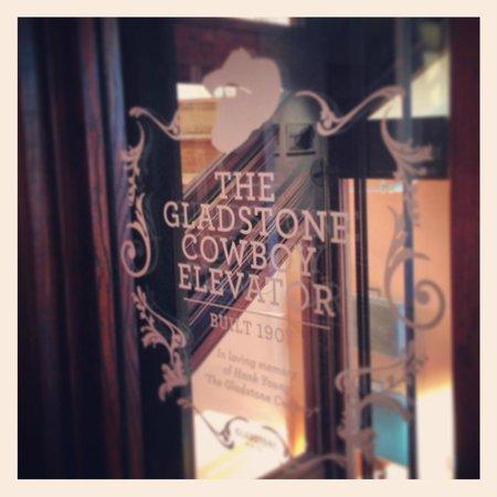 Gladstone Hotel: The Gladstone Cowboy elevator