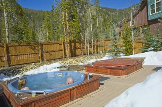 Ski Tip Townhomes: Common area hot tubs
