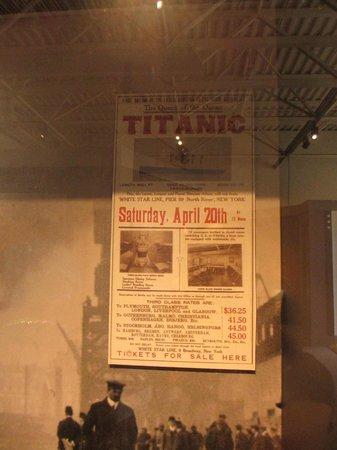 Maritime Museum of the Atlantic : Titanic Exhibit