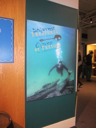 Maritime Museum of the Atlantic : Shipwreck Exhibit