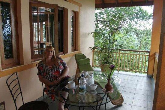 Villa Rosa: Room 3 Balcony