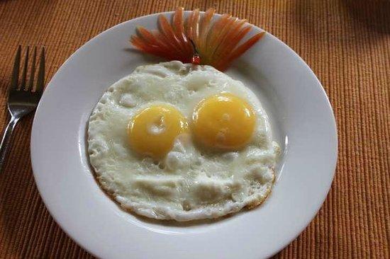 Villa Rosa: Breakfast Eggs