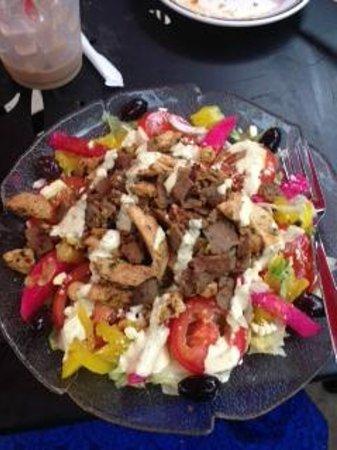 Heart of Jerusalem Cafe: Heart of Jerusalem Salad