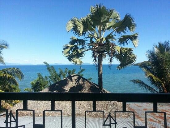 Restaurant de la Mer : vue de la terrasse