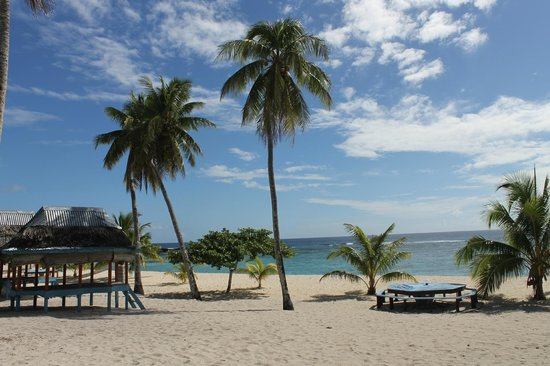 Falealupo Beach Fales: beach