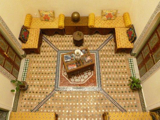 Dar Moula : sala de estar
