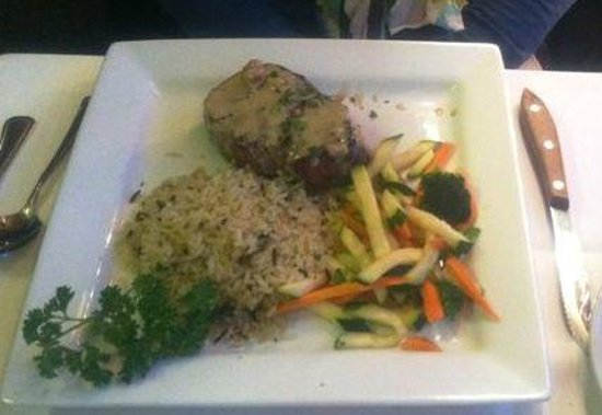 The Sow's Ear Cafe : Filet Mignon