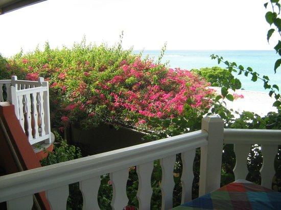 Auberge de la Vieille Tour: View from Hotel Terrace