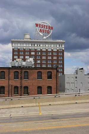 Iconic Western Auto Sign Picture Of The Westin Kansas City At