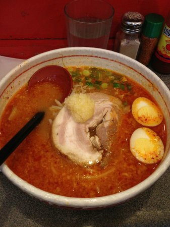 Kintaro Ramen: Roman with Garlic