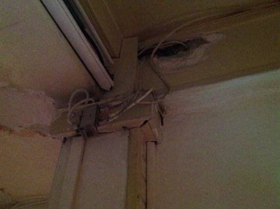 Hotel Floridor : Safety Problems