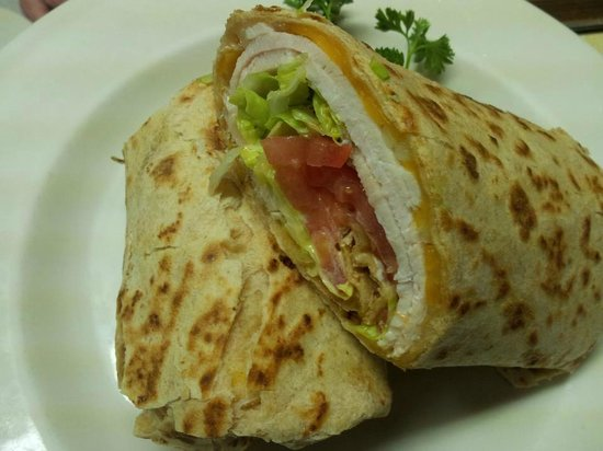 Annabell's Restaurant: Roast Turkey Honey Wheat Wrap Special
