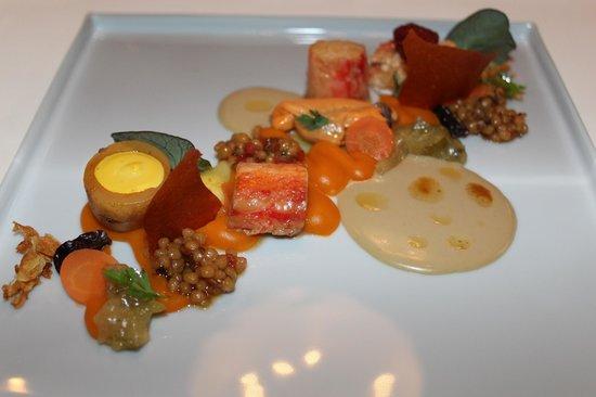 a must see - Bild von Relais & Châteaux Restaurant la vie ...