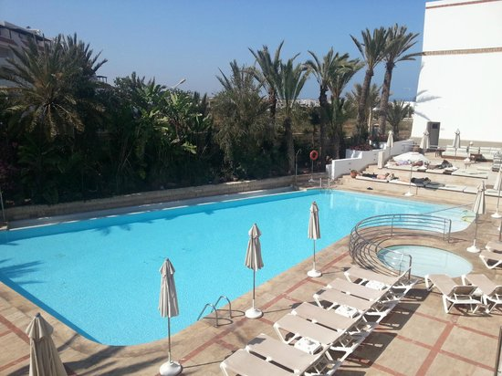 Hotel Timoulay & Spa Agadir: Pool view