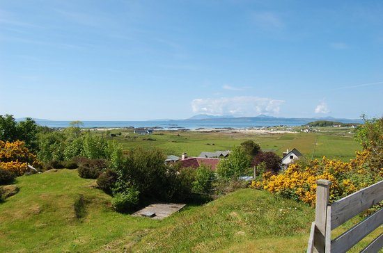 Cnoc-na-Faire: View from our afternoon drink in grounds