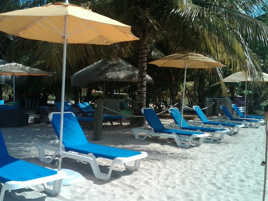 Savvy's at Mount Cinnamon: Perfect day at the beach