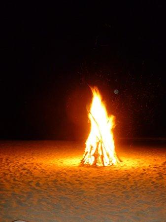 Savvy's at Mount Cinnamon : Bonfire