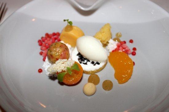Victor's Gourmet Restaurant Schloss Berg: Zitrusfrüchte des Winters