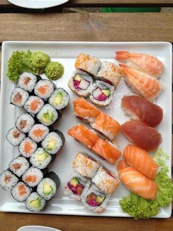 Katana Sushi: XL-Platte