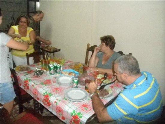 Casa Ana Garcia (Anairis): Cena en la noche