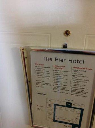 The Pier Hotel, Limerick: Känsla för detaljer.?