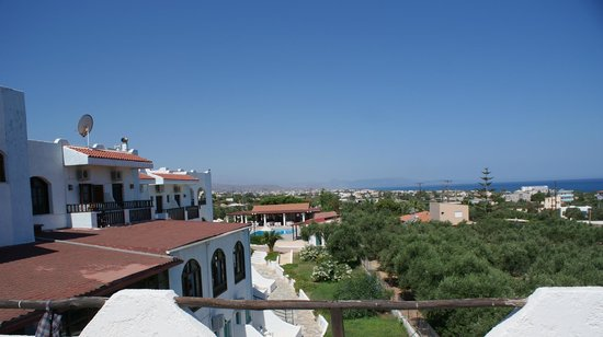 Hotel Galini : View from room
