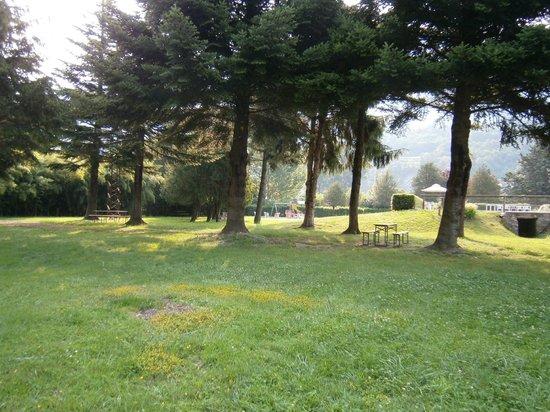 Albergo Miralaghi : Veduta del parco