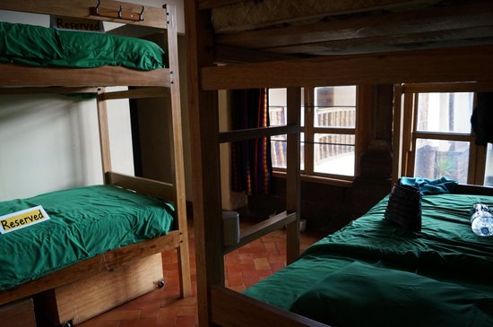 LOKI Cusco: Bunk Beds All girls dorm with private bathroom