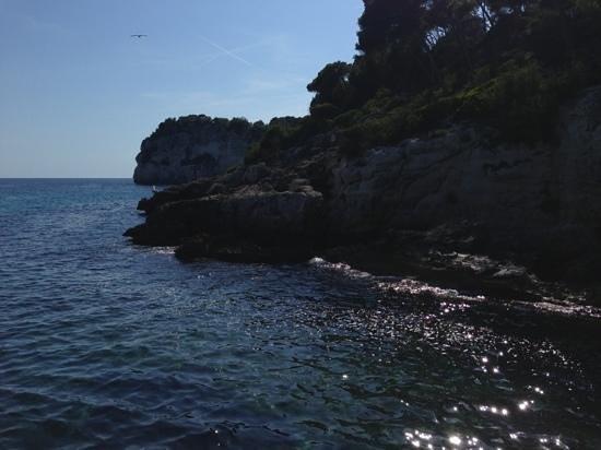 smartline Cala'n Bosch : try amigos boat trip from cala n bosch marina to cala galdana (15 euros)