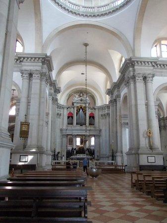 Interno Della Chiesa Foto Di San Giorgio Maggiore Venezia