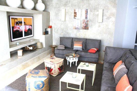 Dar Maya: lounge area