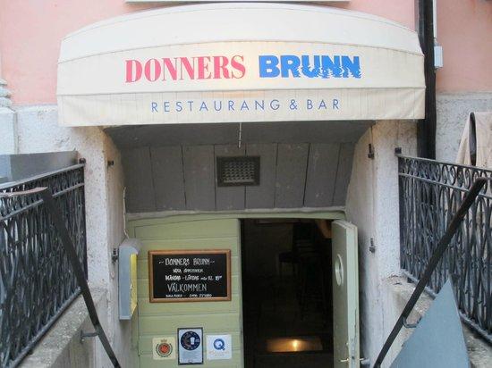 Donners Brunn : Entrance to Donner´s Brunn