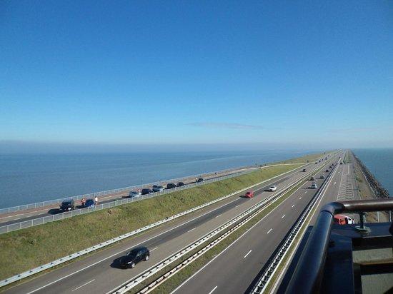 Afsluitdijk : Den oever