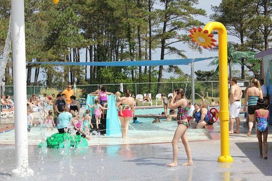 Cherrystone Family Camping Resort: Splash Pad
