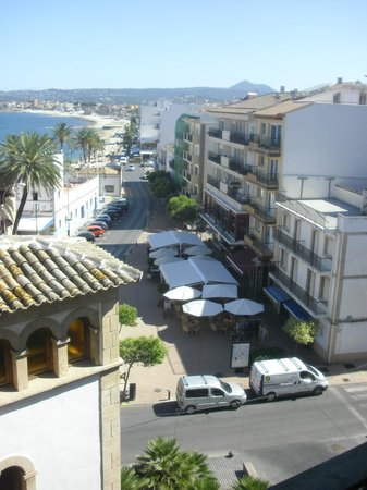 Hotel Javea: view from room 405