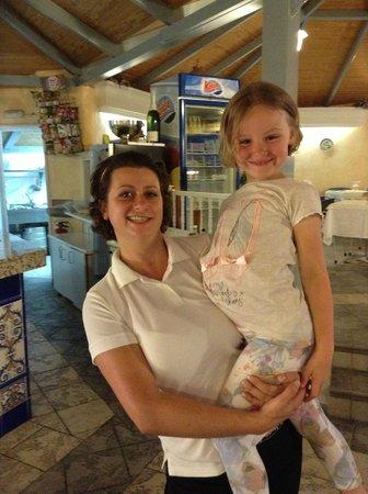 HOVIMA Atlantis: margrieta and my graddaughter