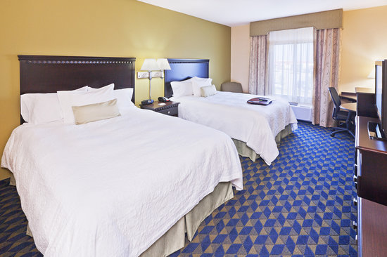 Hampton Inn & Suites Tulsa North/Owasso : Double Queen Guestroom