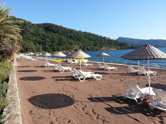 Golden Key Hotel: Plaj bakımlı